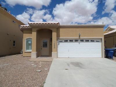 El Paso Single Family Home For Sale: 11593 Saint Thomas Way