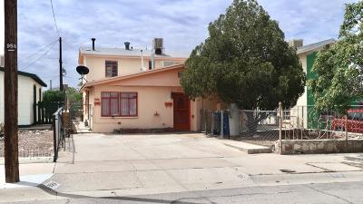 El Paso Single Family Home For Sale: 536 Bataan Circle