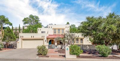 El Paso Single Family Home For Sale: 624 Alto Penasco Place