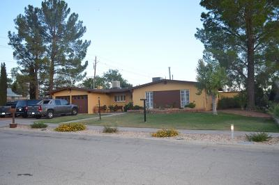 El Paso Single Family Home For Sale: 6804 La Cadena Drive