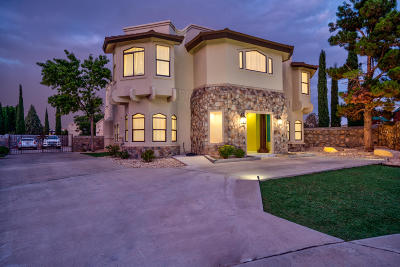 El Paso Single Family Home For Sale: 1859 Luis Gomez Place