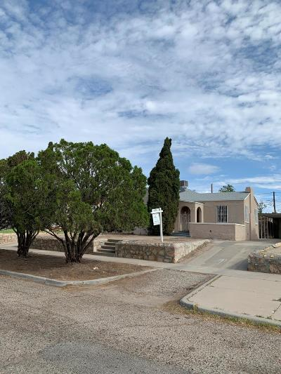 El Paso Single Family Home For Sale: 4533 Clifton Avenue