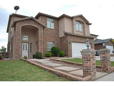 El Paso Single Family Home For Sale: 3540 Tierra Bahia Drive