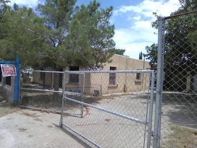 El Paso TX Single Family Home For Sale: $62,000