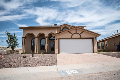 El Paso Single Family Home For Sale: 14201 Bailee Point Lane
