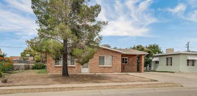 El Paso TX Single Family Home For Sale: $99,900