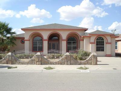 El Paso Single Family Home For Sale: 12501 Tierra Cuervo Drive