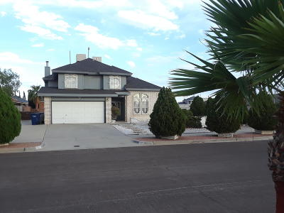 El Paso Single Family Home For Sale: 1900 Pueblo Nubes Lane