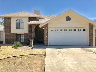 Vista Hills Single Family Home For Sale: 2432 John Cox Place