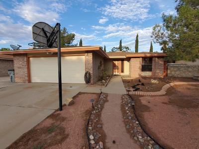 El Paso TX Single Family Home For Sale: $129,950