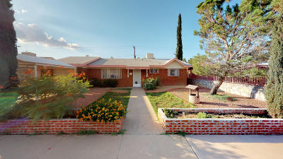 El Paso Single Family Home For Sale: 5709 Hemmingway Drive