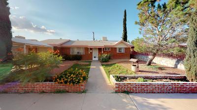 El Paso TX Single Family Home For Sale: $108,000
