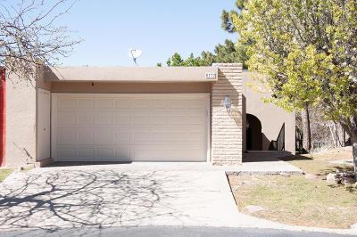 El Paso TX Condo/Townhouse For Sale: $217,500