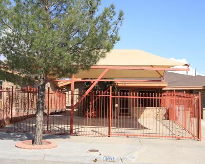 El Paso TX Single Family Home For Sale: $95,000