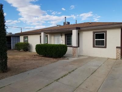El Paso TX Single Family Home For Sale: $125,000