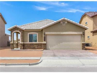 El Paso Single Family Home For Sale: 14909 Tierra Crystal Avenue