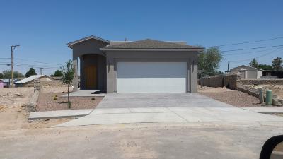 Socorro Single Family Home For Sale: 11680 Flor Gloriosa Drive