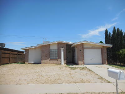 El Paso Rental For Rent: 1756 Dick Mayers Drive