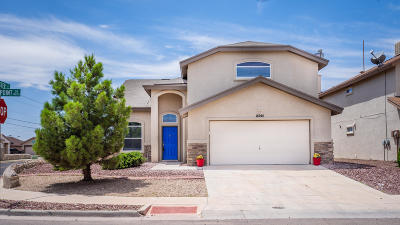 El Paso Single Family Home For Sale: 14244 Spanish Point Drive