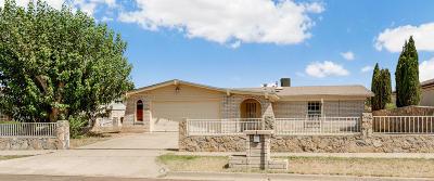 El Paso Single Family Home Pending Accepting Offers: 10416 Crete Drive