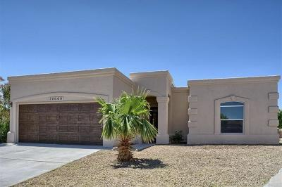 Horizon City Single Family Home For Sale: 14000 Stoutland Lane
