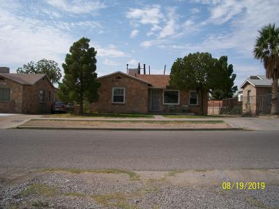 El Paso Single Family Home For Sale: 3116 Nations Avenue