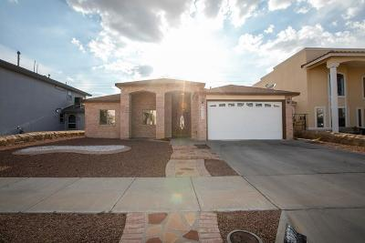 El Paso Single Family Home For Sale: 3777 Tierra Isela Drive