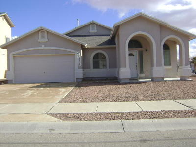 El Paso Rental For Rent: 3100 Tierra Mina Drive