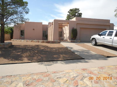 El Paso Single Family Home For Sale: 7121 Ramada Drive
