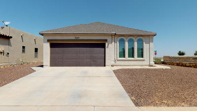 El Paso Single Family Home For Sale: 7021 Long Meadow Drive