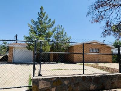 El Paso Single Family Home For Sale: 8936 Mount Shasta Drive