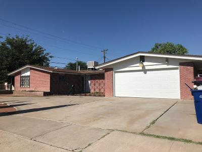 El Paso Single Family Home For Sale: 3005 Flax Street