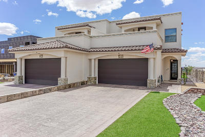 El Paso Single Family Home For Sale: 405 Vianney Way #B
