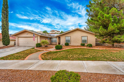 El Paso Single Family Home For Sale: 6237 Brisa Del Mar Drive