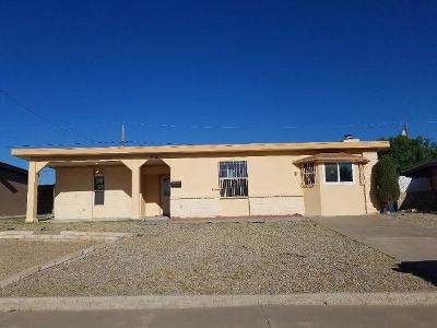 El Paso TX Single Family Home For Sale: $111,100