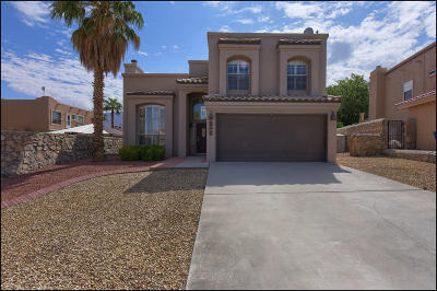 El Paso TX Single Family Home For Sale: $194,888
