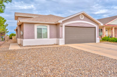 El Paso TX Single Family Home For Sale: $139,500