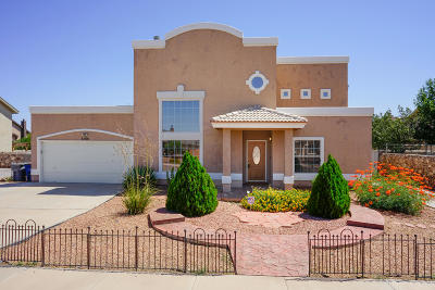 El Paso TX Single Family Home For Sale: $189,999