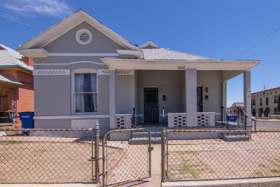 El Paso Multi Family Home For Sale: 1100 N Florence Street
