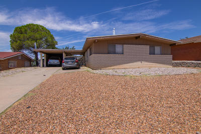 El Paso Single Family Home For Sale: 214 Mardi Gras Drive