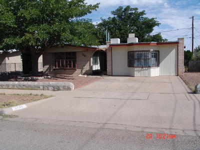 El Paso Single Family Home For Sale: 5737 Sherbrooke