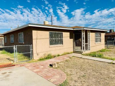 El Paso TX Single Family Home For Sale: $107,750