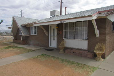 El Paso TX Single Family Home For Sale: $70,000