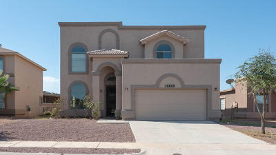 El Paso Single Family Home For Sale: 14240 Craggy Rock Avenue