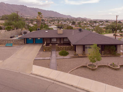 El Paso Single Family Home For Sale: 328 Northwind Drive