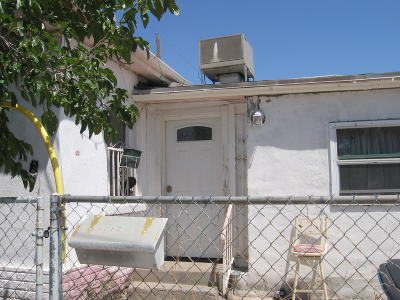 El Paso TX Single Family Home For Sale: $65,000