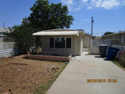 El Paso Single Family Home For Sale: 212 N Ascarate Street