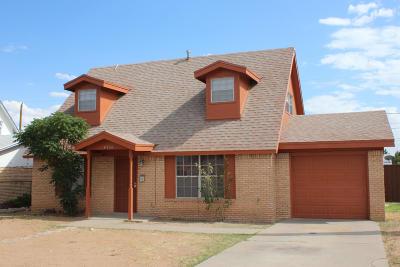 El Paso Rental For Rent: 4736 Harcourt Drive