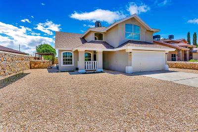Horizon City Single Family Home For Sale: 208 Lago Grande Drive