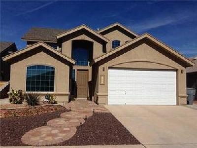 El Paso Single Family Home For Sale: 5433 Santiago Roque Drive